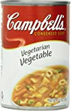 Campbell's Condensed Soup, Vegetarian Vegetable, 10.5 Ounce (Pack of 12)