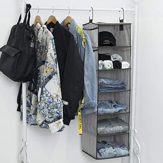 Amazon.com: StorageWorks - Organizador de armario para ...