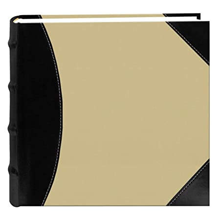 pioneer photo albums high capacity sewn fabric and leatherette cover