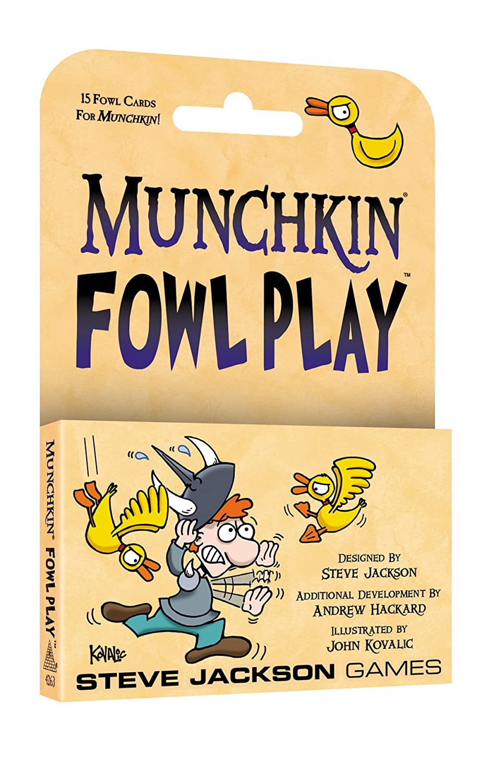 Steve Jackson Games SJG04263 Munchkin Fowl Play Multi-Coloured Pegasus Spiele