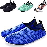 Wanvego Quick Dry Slip-on Barefoot Skin Yoga Socks Aqua Water Shoes for Beach Surf Swim Outdoor Sport