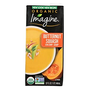 Imagine Soup Butternut Squash - 32 ounce -- 12 per case.