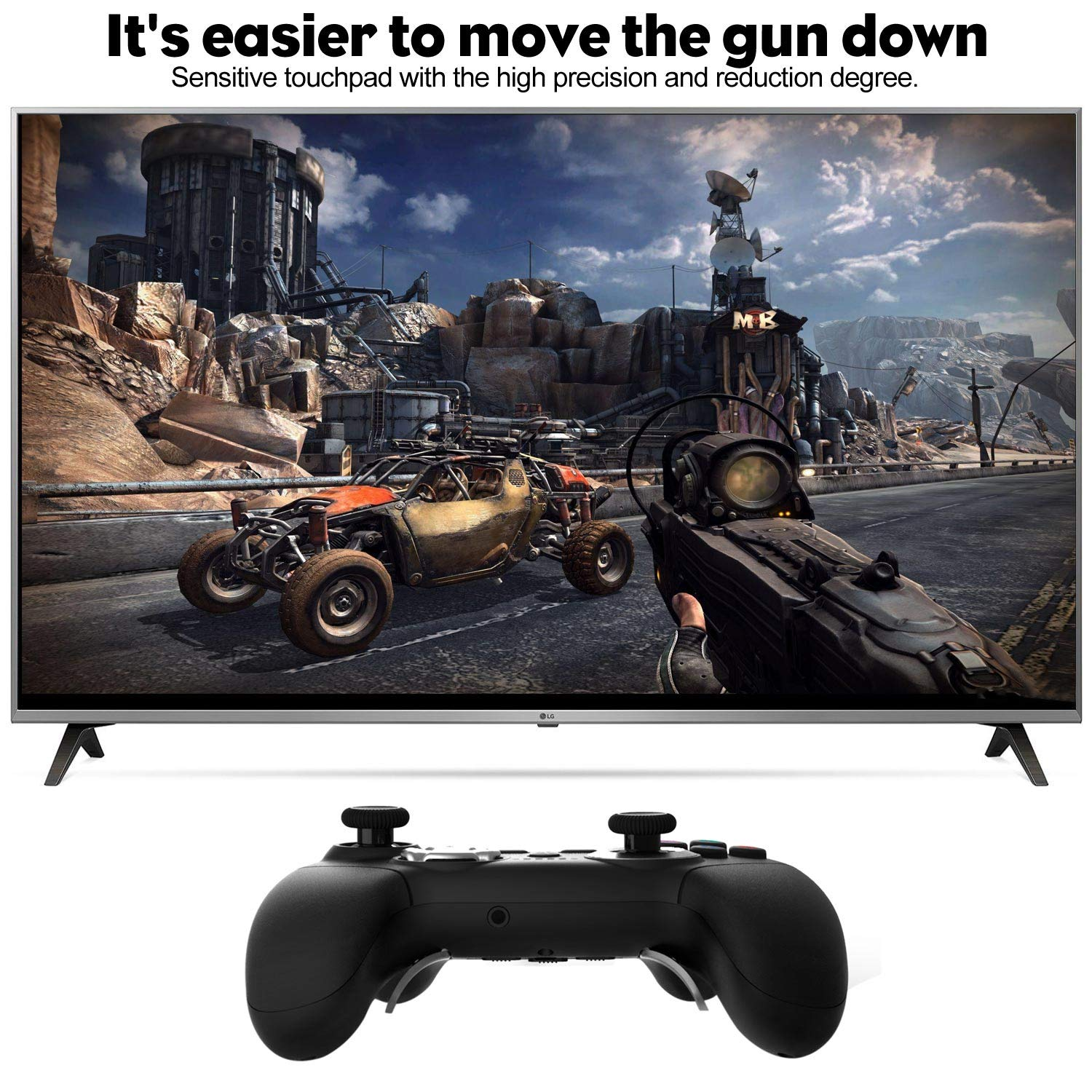 Amazon.com: PS4 Modded Controller, Remap Elite PS4 ...