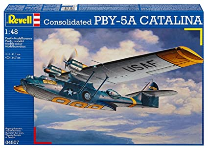 amazon com revell consolidated pby 5a catalina model kit 1 48