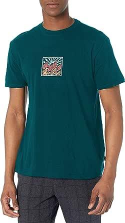 BILLABONG Mens M4041BPA Palmer Short Sleeve Tee T-Shirt - White