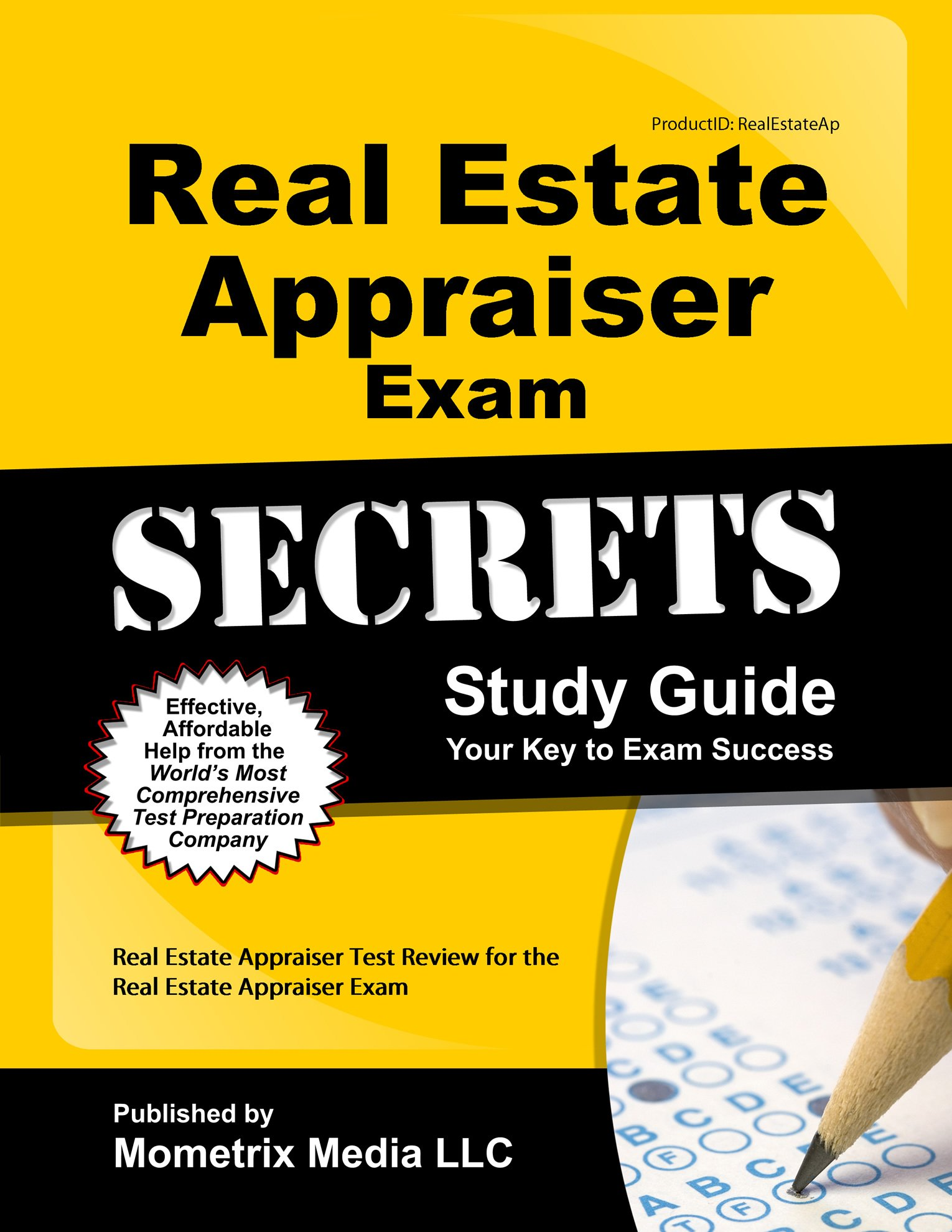Real Estate Appraiser Exam Secrets Study Guide: Real Estate Appraiser Test  Review for the Real Estate Appraiser Exam: Amazon.com: Books