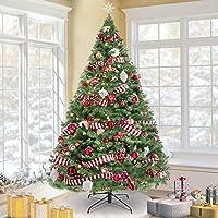 Deals on KingSo 7.5ft Christmas Tree