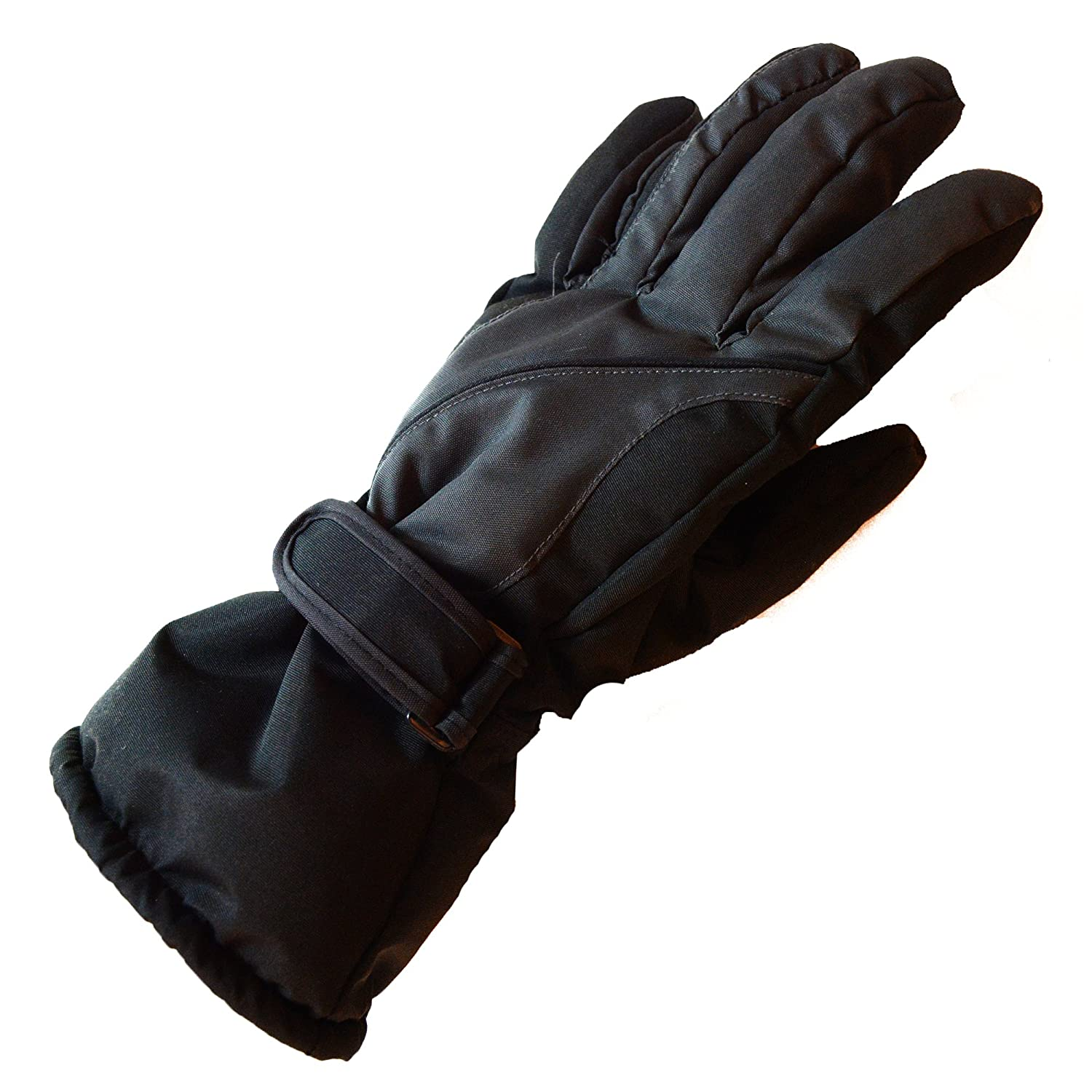 Ski Gloves,RunRRIn Winter Warmest Waterproof and Breathable Snow Gloves for Mens,Womens,ladies and K APPAREL メンズ カラー: ブラック B077RHHRSQ