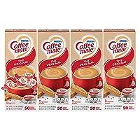 200Pk Nestle Coffee-mate Coffee Creamer, Original Liquid Creamer