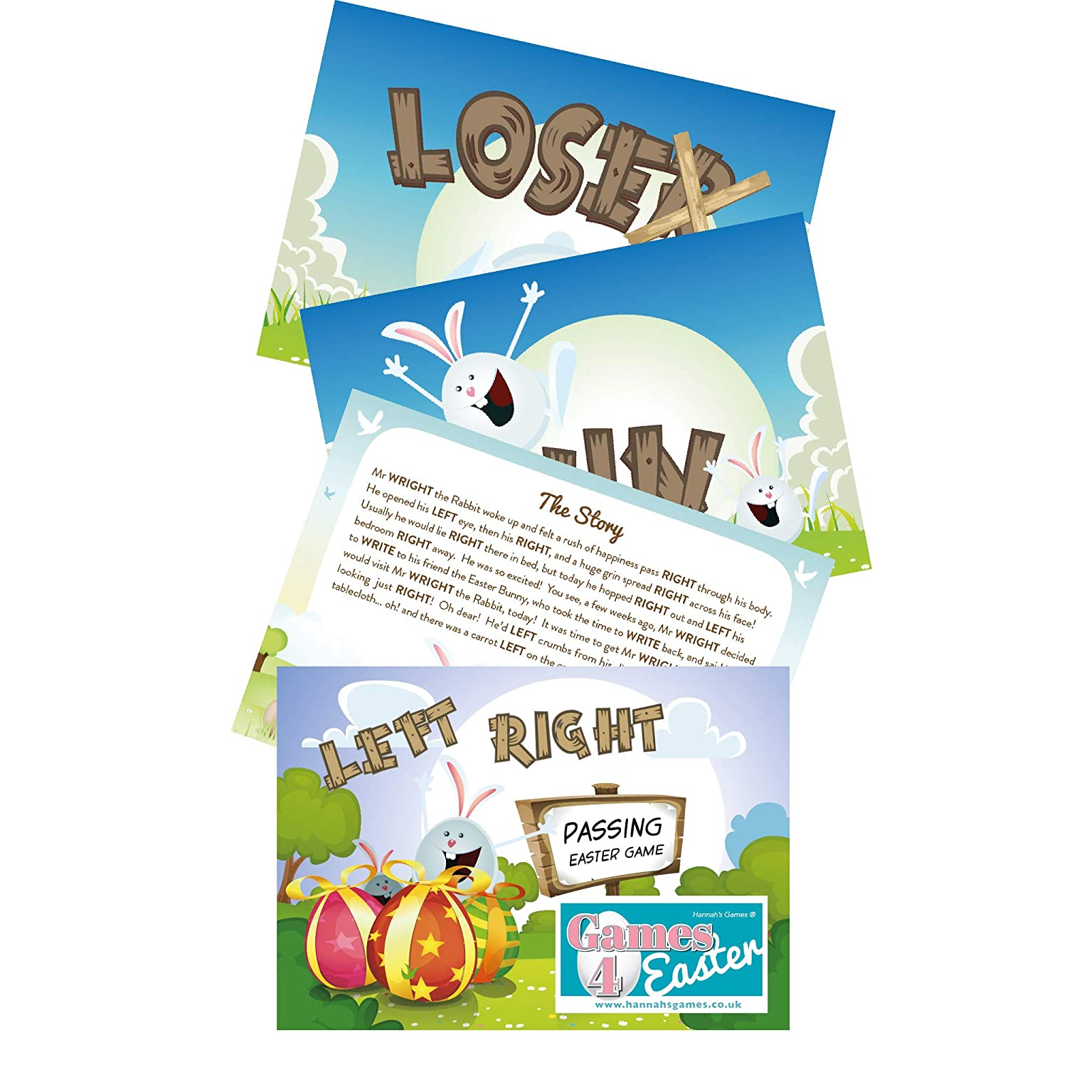 d0f8699c2d3a Easter Left Right Game Poem - Pass it on Left-Right poem - Easter Games -  Pass the gift Game - Easter party games - easter table games - Easter Gift  ...