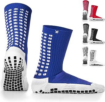 LUX Antideslizante Calcetines De Fútbol, Non Slip calcetines de deporte, almohadillas de goma, Trusox/tocksox Style, Top Calidad: Amazon.es: Ropa y accesorios