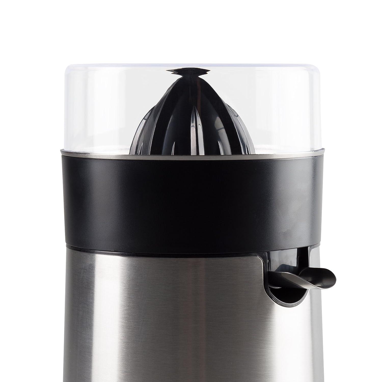 Ultratec Exprimidor de cítrico eléctrico, acero inoxidable/negro, 85 vatios: Amazon.es: Hogar