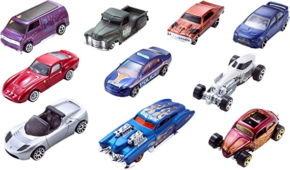 Hot Wheels 10-Pack (Styles May Vary) [Exclusive]