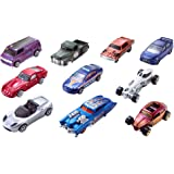 Hot Wheels 10-Car Pack of 1:64 Scale Vehicles​, Gift for Collectors and Kids Ages 3 Years Old and Up