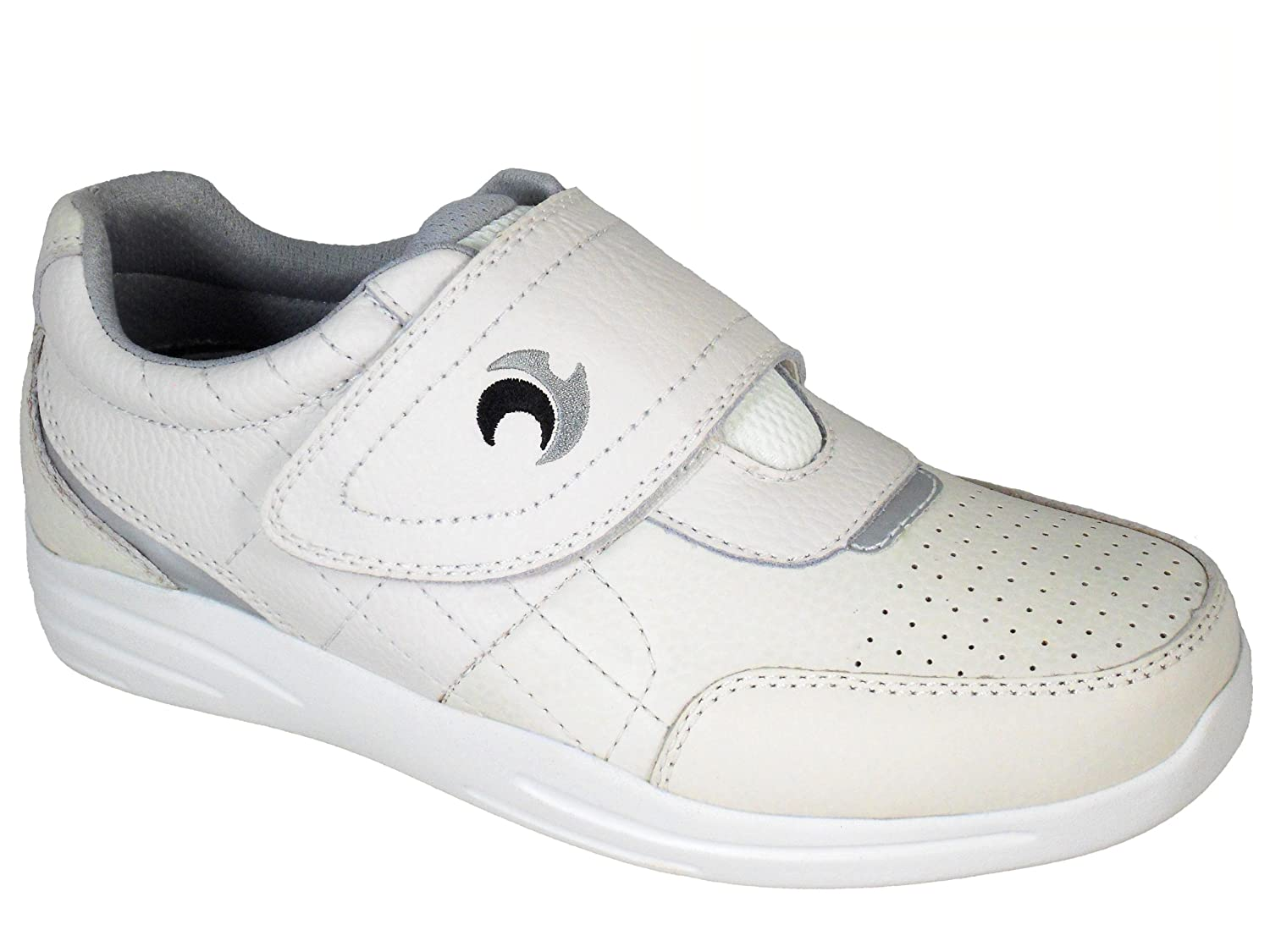 60969664739 Henselite Men s Pro Sport Velcro Quality Leather Lawn Bowls Shoes Sizes 6  to 13  Amazon.co.uk  Shoes   Bags