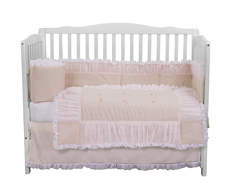 Baby Doll Forever Mine Junior Crib Skirt//Dust Ruffle Pink