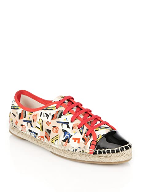 Fendi Junia Leather Espadrilles discounts sale online clearance release dates F0z8iS