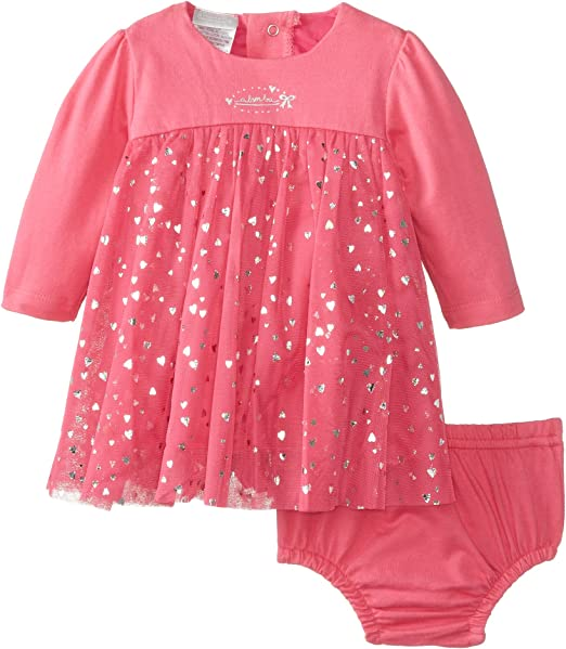 absorba Baby Girls Dress and Panty Set