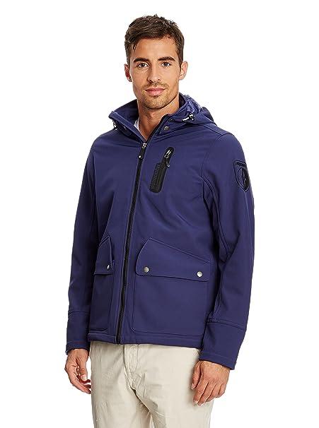 S it Blu Giacca Amazon ARQUEONAUTAS Abbigliamento Navy Softshell qP4WUI