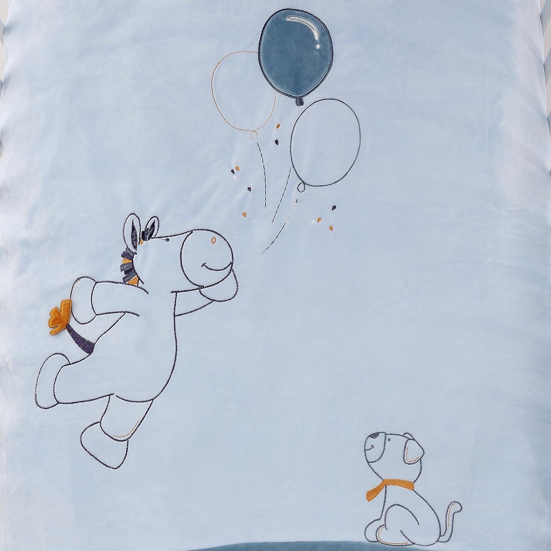 Noukies Achille /& Zebrito Housse de Couette 100 x 140 cm