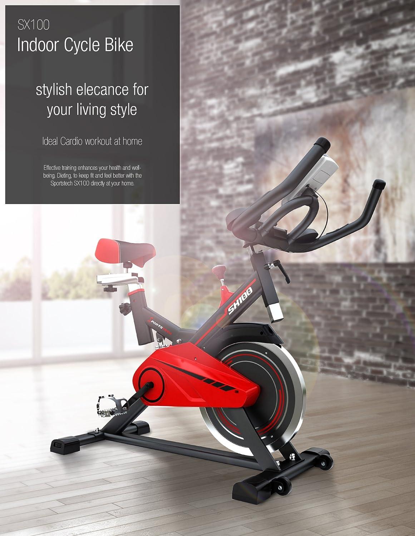 Sportstech profesional interior ciclo SX100 con 13 kg Flywheel ...