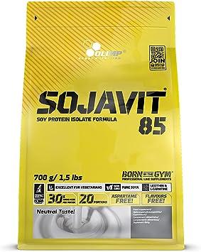 OLIMP SPORT NUTRITION Sojavit 85 Zip Bag Proteína, Sabor Natural - 700 g