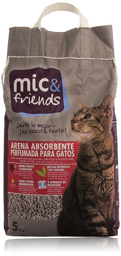 Mic&Friends - Arena Absorbente Perfumada para Gatos ...