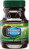 Maxwell House Decaffeinated Instant Coffee, 8 oz