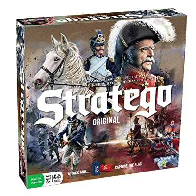 Stratego Original Game -- New Update - Classic Pawns with No Stickers!: Toys & Games