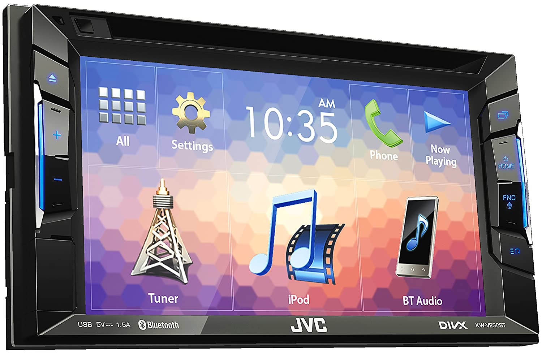 Spiksplinternieuw JVC KW-V230BT DVD-/CD-/USB-Receiver mit Integrierter Bluetooth JU-13
