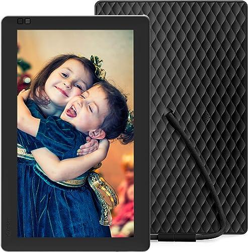 Nixplay Seed 10 Inch WiFi Digital Photo Frame – Share Moments Instantly via App or E-Mail