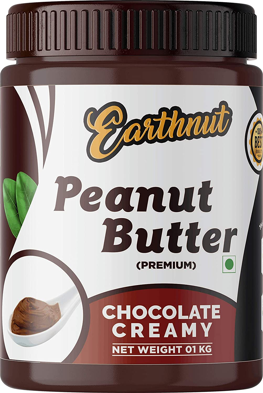 [Apply Coupon] Earthnut Peanut Butter Chocolate 1Kg (Gluten Free / Non-GMO / Vegan)