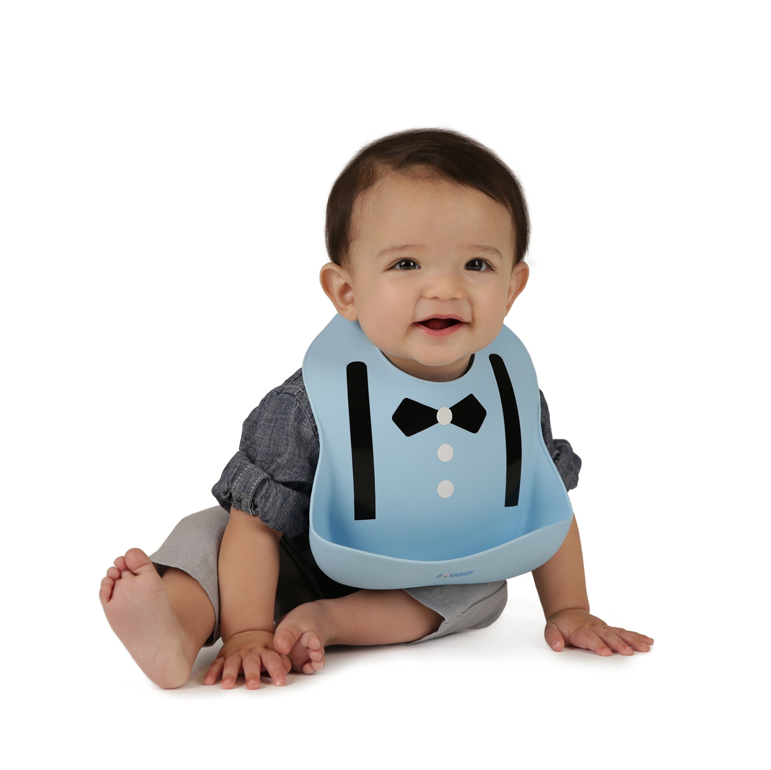 96d34cc74e7 Waterproof Bibs for Toddlers - Silicone Baby Bib – Easy to Clean Feeding Bib  - Soft
