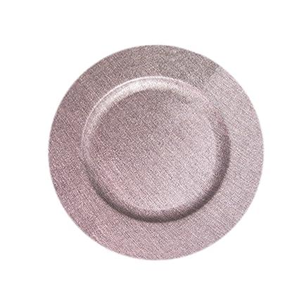 ChargeIt por Jay 1270507 acabado en piel de batería plato, melamina, Platinum