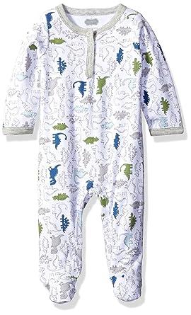 63562bdbc9 Amazon.com  Mud Pie Baby Boy One Piece Footed Sleeper  Clothing