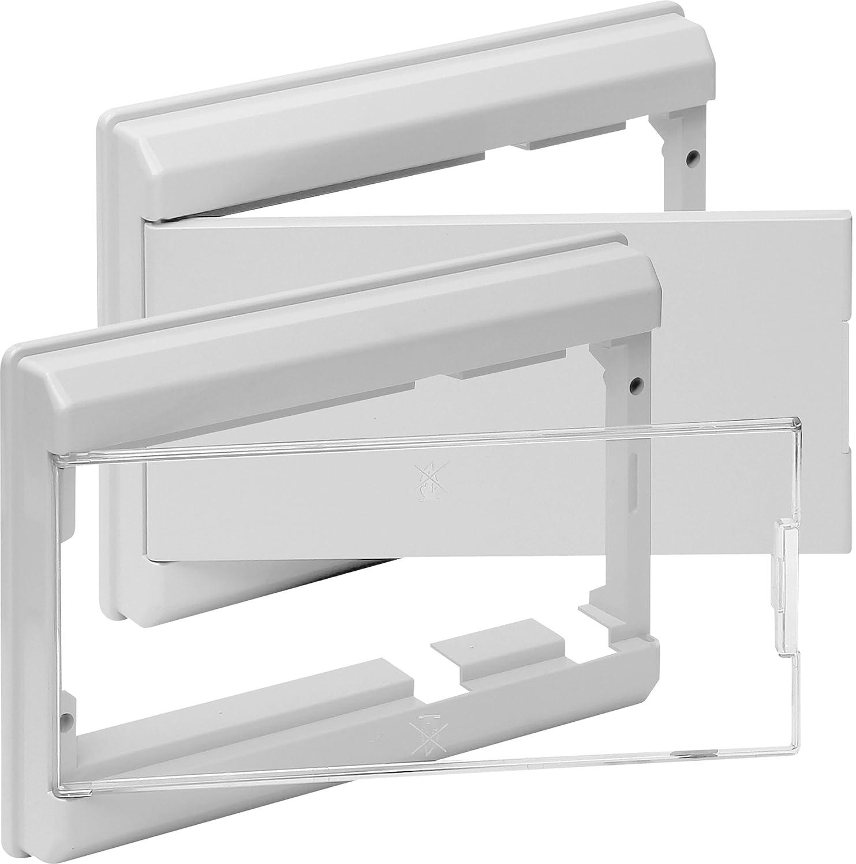 Clá sica 5204B Marco y Puerta para Caja de Distribució n SOLERA serie clasica