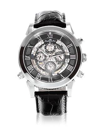 23c157b3be Lindberg & Sons Homme Analogique Automatique Montre avec Bracelet en Cuir  SK14H011