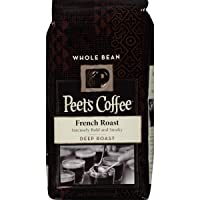 Peets Coffee French Roast Dark Roast Whole Bean Coffee 12 oz