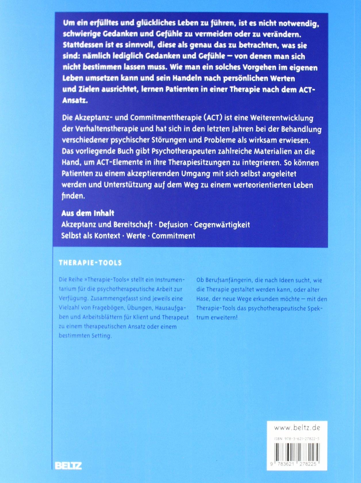 Therapie-Tools Akzeptanz- und Commitmenttherapie: Mit Online ...