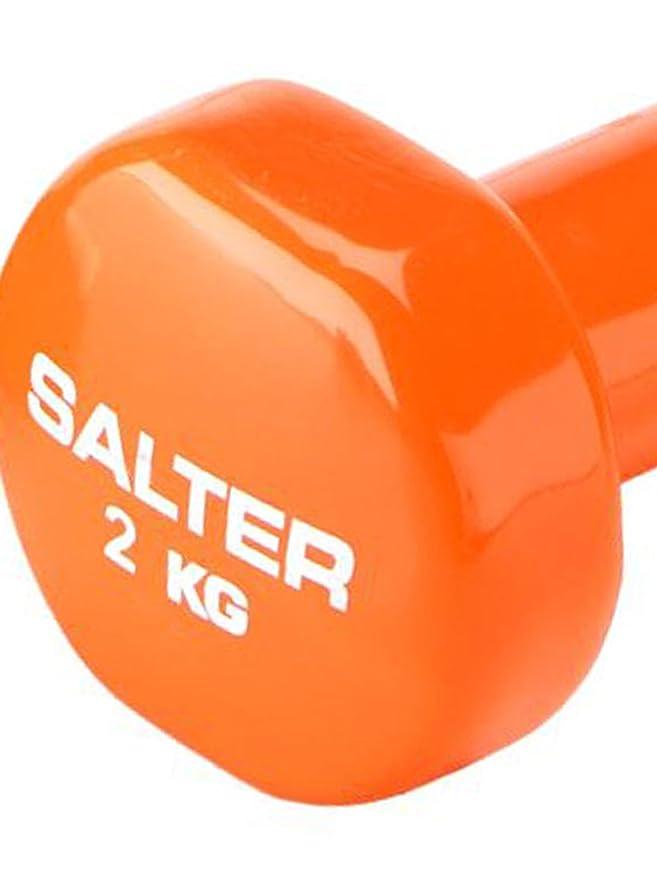 SALTER PT038 Pesas de Vinilo, Unisex, Naranja: Amazon.es: Deportes y aire libre