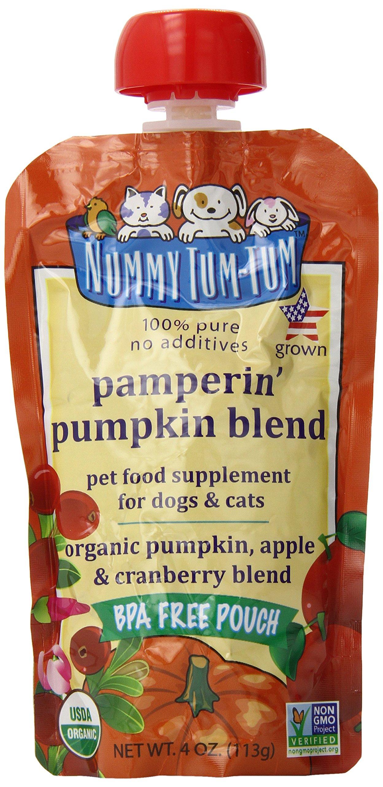 Nummy Tum Tum Organic Pampering Pumpkin Blend, 4 Ounce (Pack of 12)