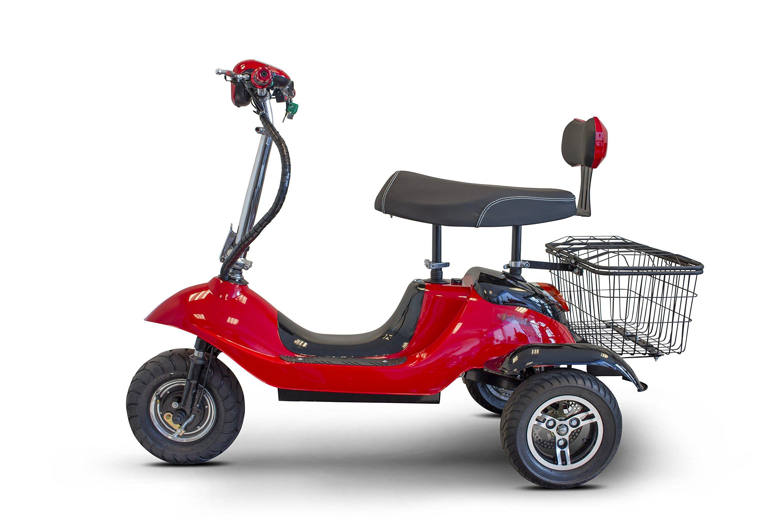 E-Wheels - EW-19 Sporty - 3-Wheel - Red - PHILLIPS POWER PACKAGE TM - $500 VALUE