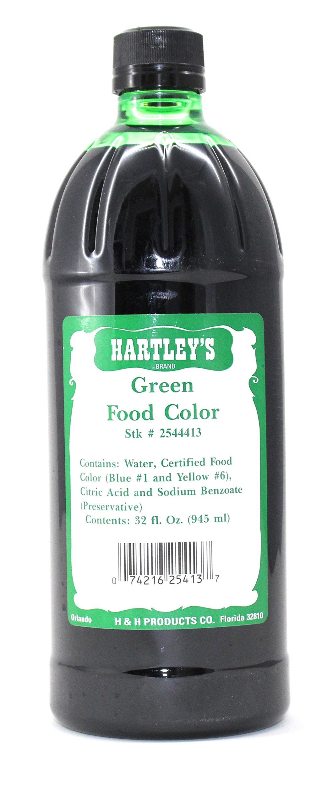 Amazon.com : Hartleys Green Food Coloring Commercial Grade ...