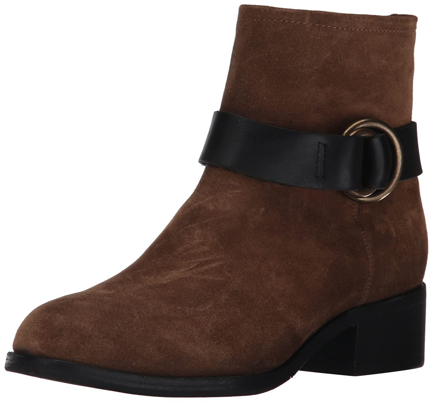 FRYE Women's Kristen Harness Short Boot B01MQYGEO8 8.5 B(M) US|Chestnut Soft Oiled Suede