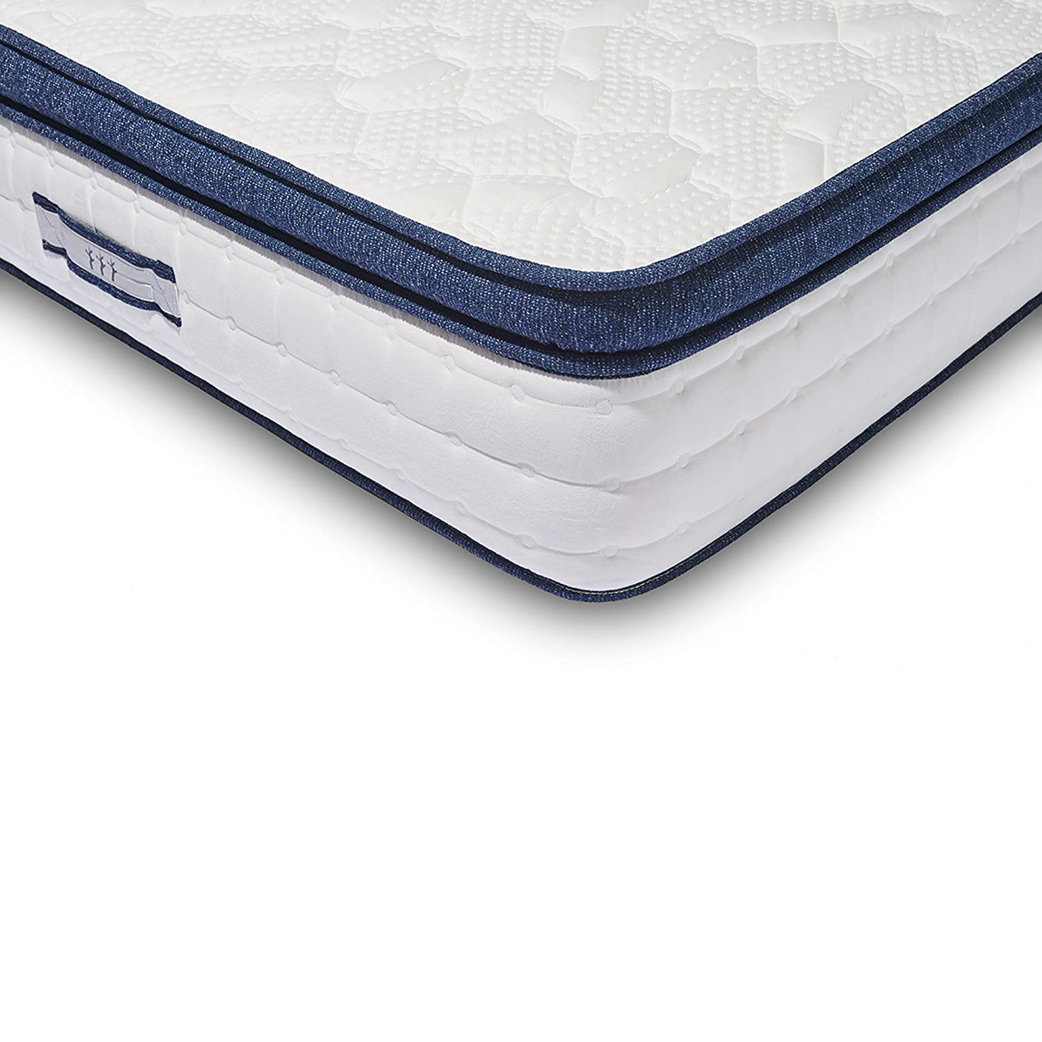 cobble innerspring pl foam mattress encased hill traditional symbol mattresses