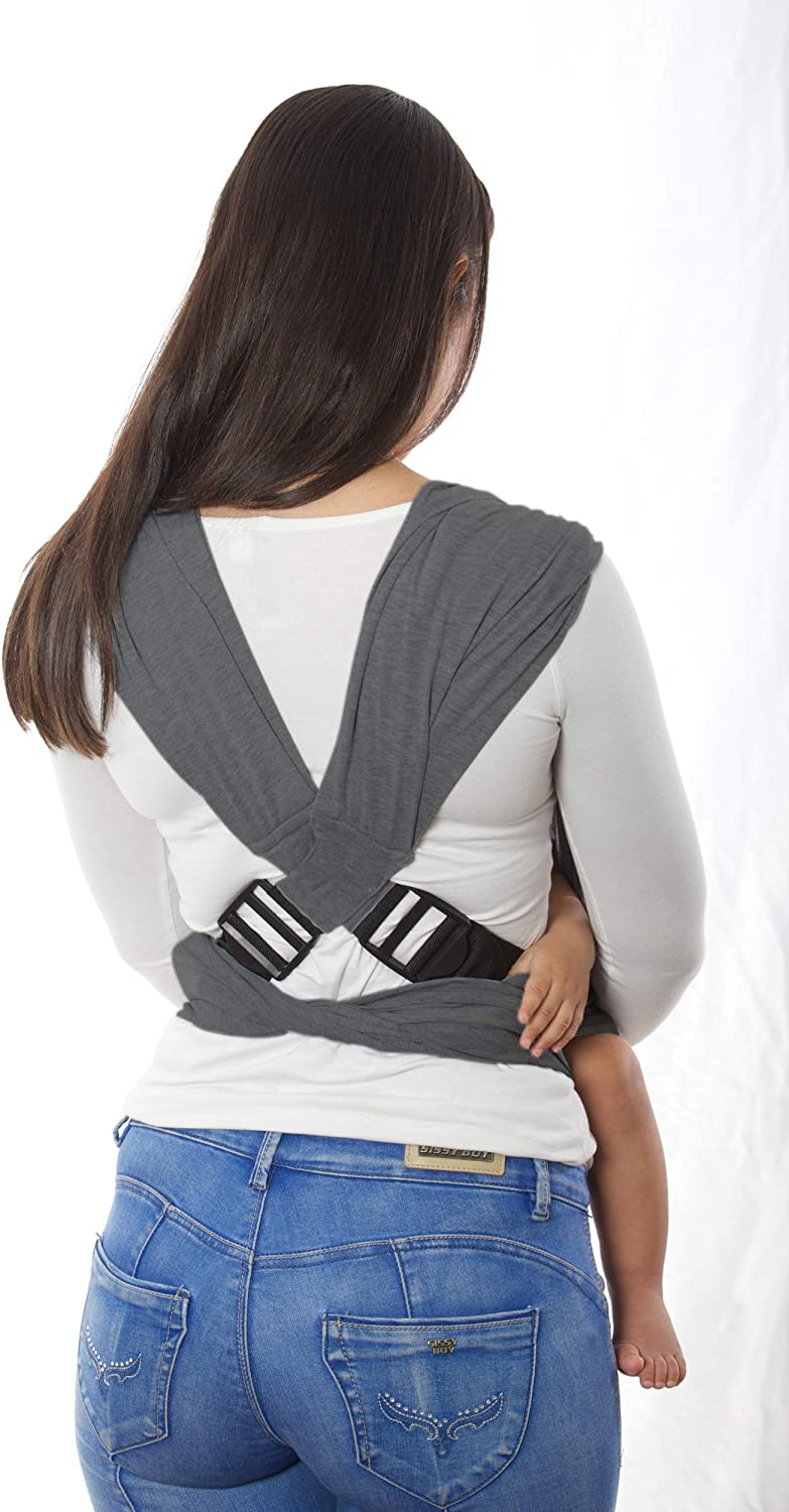 Dreamgenii Snuggleroo Charcoal Grey Baby Carrier