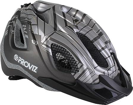 Proviz REFLECT360 Ciclismo y Bicicleta Casco, Unisex, Color Gris ...