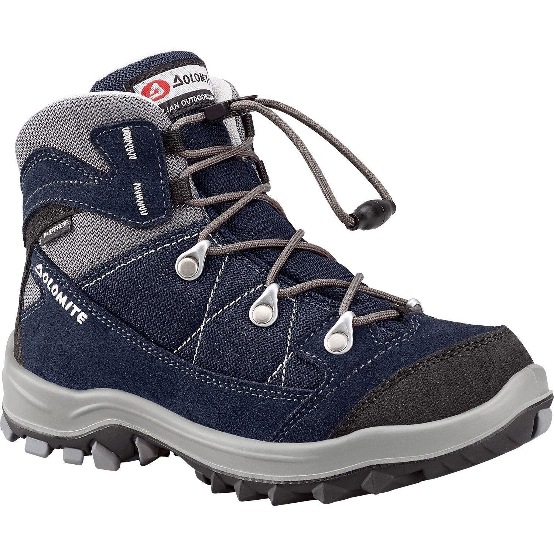 6db7011fcb6 Dolomite Davos Kid WP Walking Boot 251268 High, Navy Blue/Army Green ...