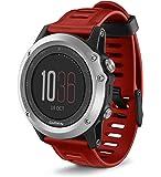 Garmin Fenix 3 GPS Watch Red (Renewed)