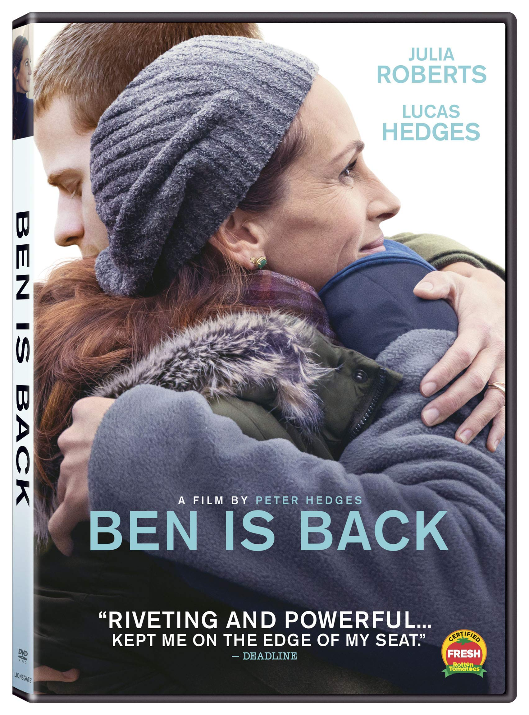 DVD : Ben Is Back (Widescreen, Dolby, AC-3, Subtitled)